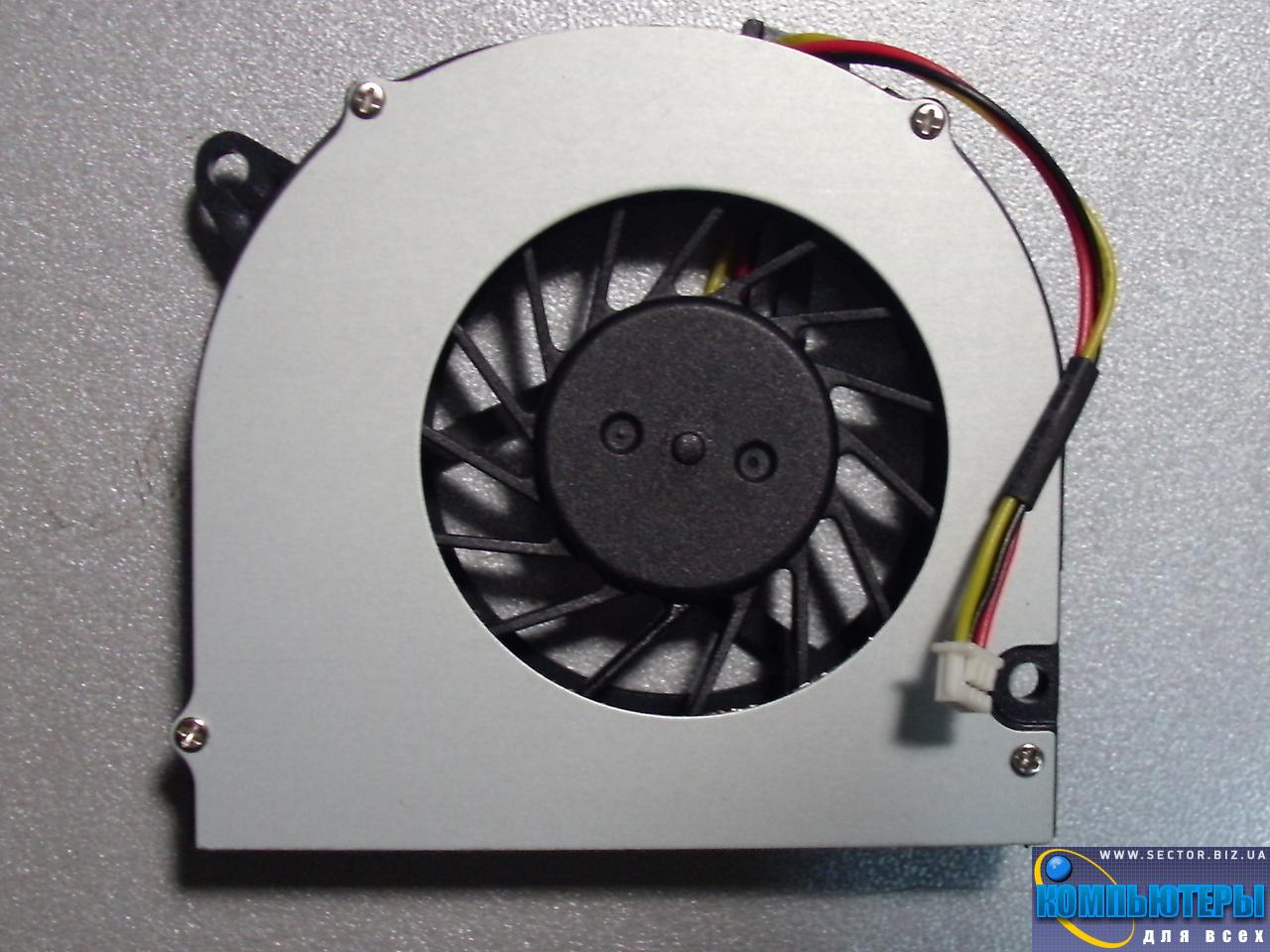 Кулер к ноутбуку HP Compaq 540 541 6510b 6515b 6520s 6530b 6710b 6710s 6715s 6715b p/n: DFB451005M20T. Фото № 1.