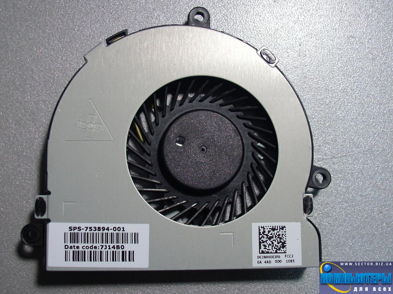 Кулер к ноутбуку Dell Inspiron 15R 3521 3721 5521 5535 5721 p/n: DFS470805CL0T FFG7. Фото № 4.