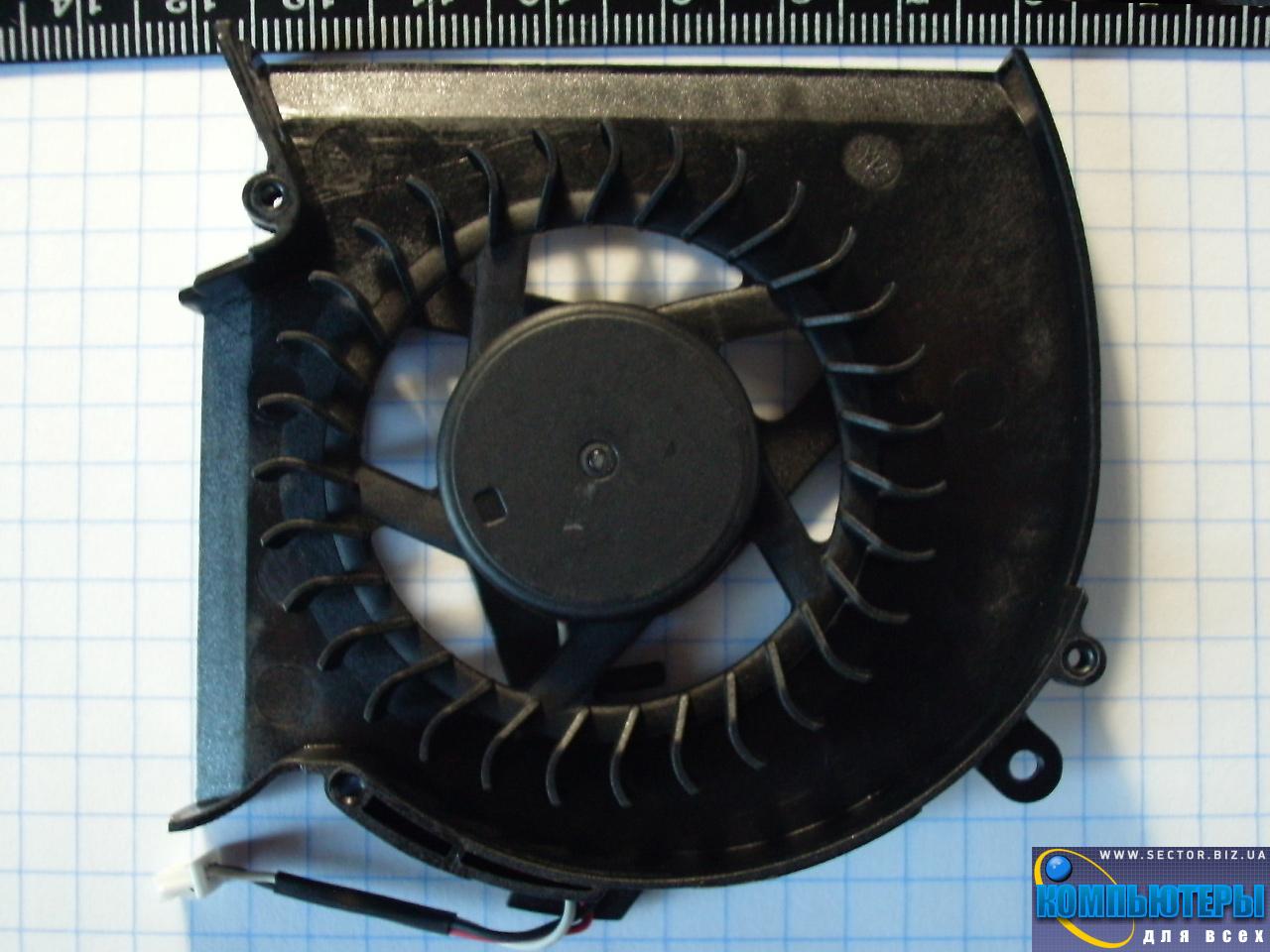 Кулер к ноутбуку Samsung R620 R580 RV508 RV510 p/n: DFS531005MC0T F81G-1. Фото № 6.