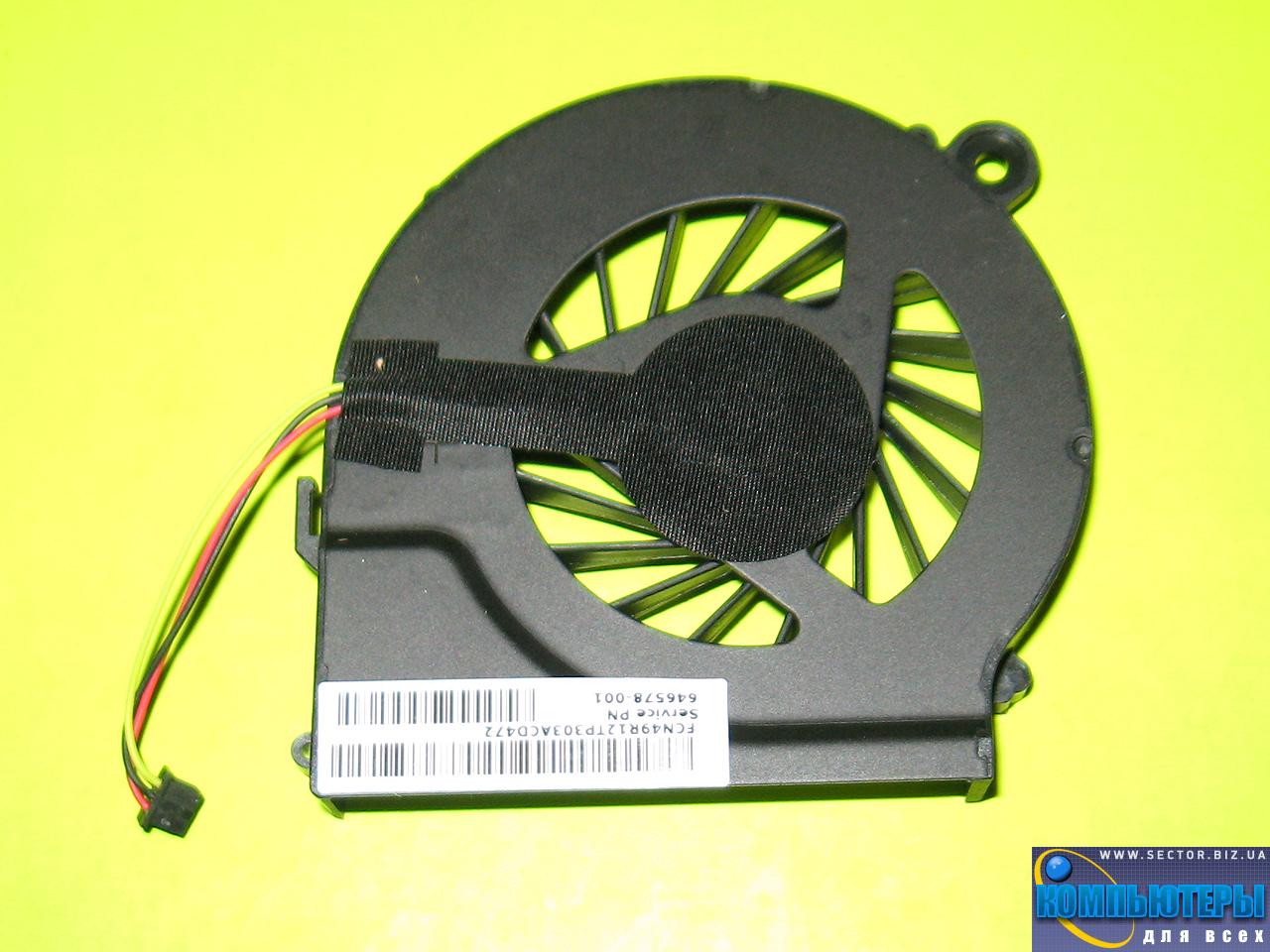 Кулер к ноутбуку HP Compaq CQ42 G42 G4 G6 G7 CQ56 G56 p/n: DFS531105MC0T FAB9. Фото № 4.