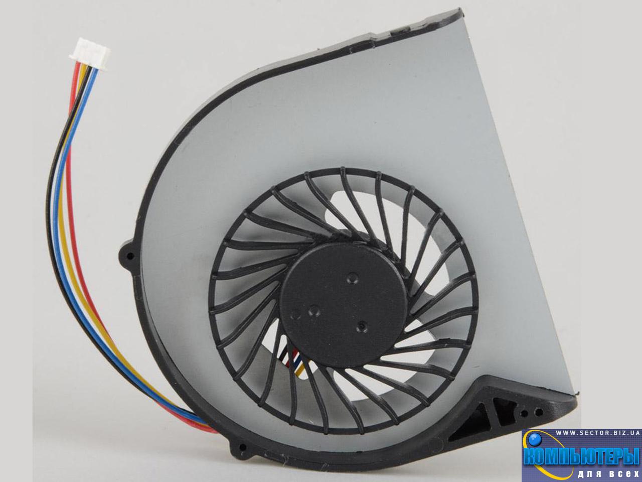 Кулер к ноутбуку Lenovo B480 B480A B485 B490 B590 M490 M495 p/n: DFS531205HC0T. Фото № 6.