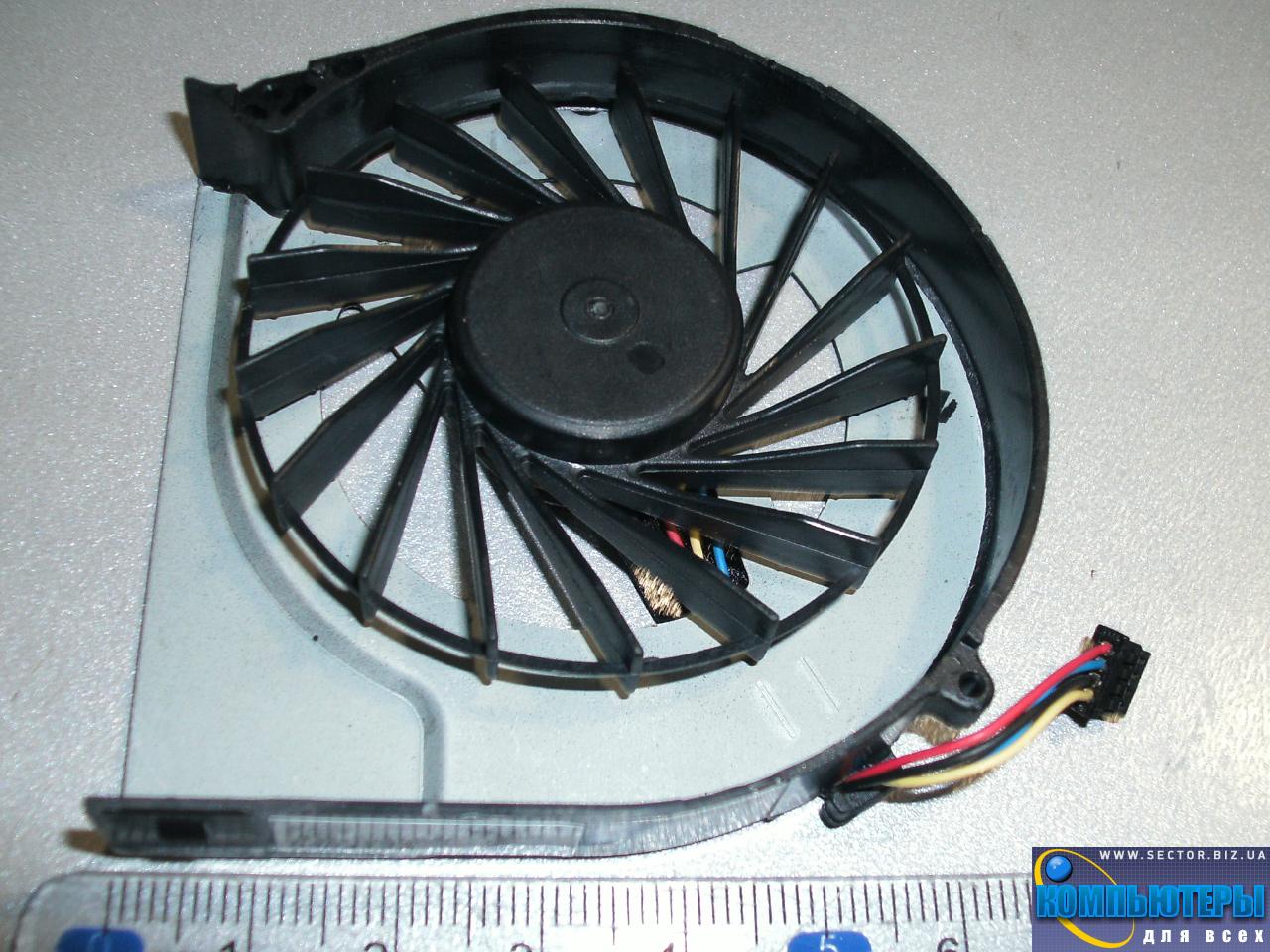 Кулер к ноутбуку HP Pavilion G4-2000 G4-2045TX G4-2006AX G6-2000 G6-2328TX G7-2000 p/n: DFS531205MC0T FB5S 683193-001. Фото № 2.