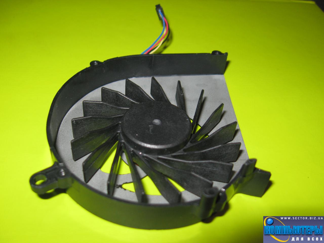 Кулер к ноутбуку HP Compaq CQ58 G58 650 655 2000 p/n: DFS531205MC0T FB7U. Фото № 1.