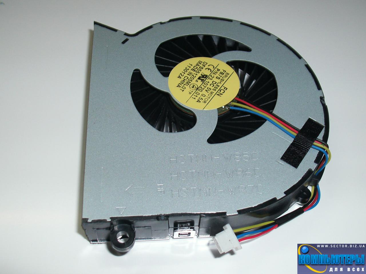 Кулер к ноутбуку HP ProBook 4540S 4740S 4750S p/n: DFS551205ML0T FB7S 23.10720.001. Фото № 1.