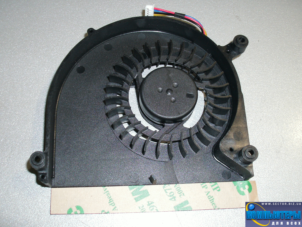 Кулер к ноутбуку Asus X5D X5DI X5DC X5DAF X5 K60 K61IC K70 K70AB K70C p/n: KDB0705HB-9K57. Фото № 4.