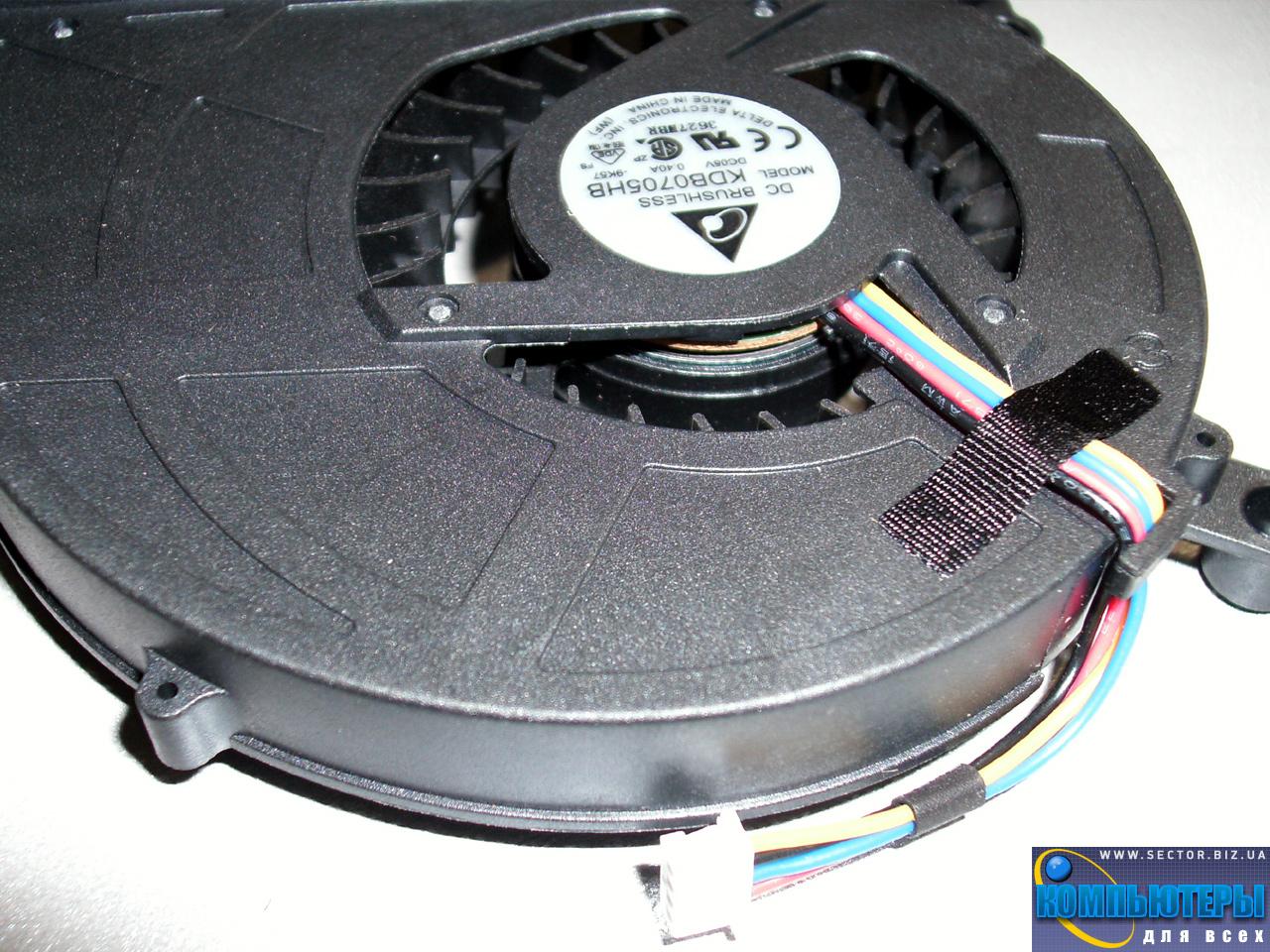 Кулер к ноутбуку Asus X5D X5DI X5DC X5DAF X5 K60 K61IC K70 K70AB K70C p/n: KDB0705HB-9K57. Фото № 5.