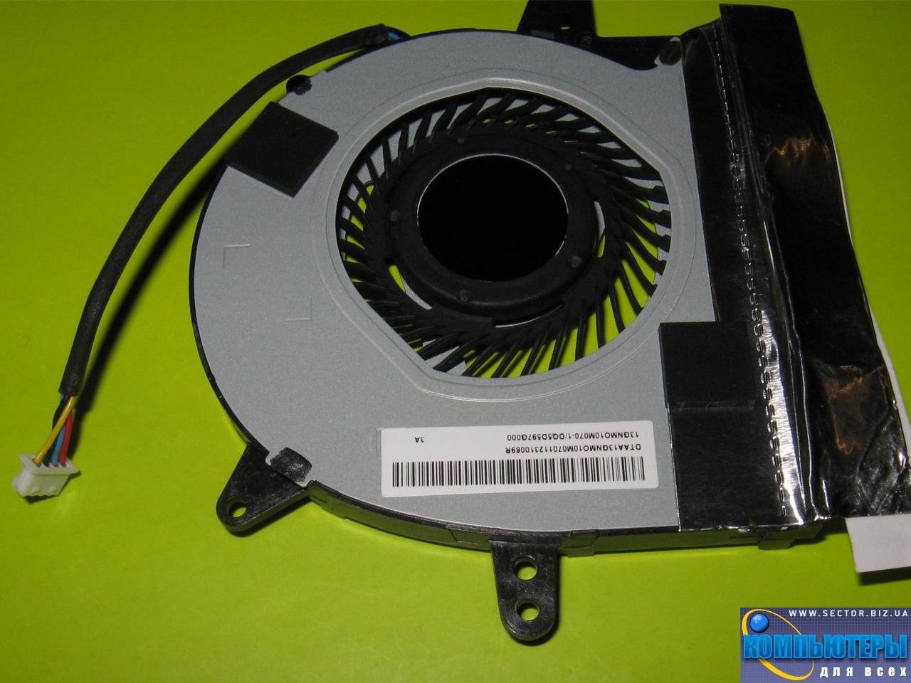 Кулер к ноутбуку Asus X401U X501U X401V X501V p/n: KSB0705HB-CA72. Фото № 4.