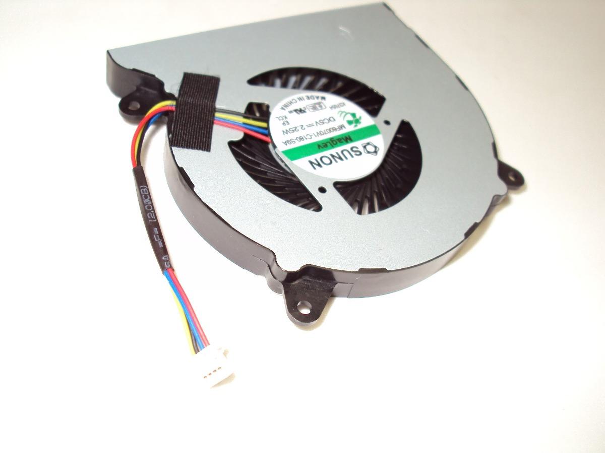 Кулер к ноутбуку Asus N550 N550J N550JV N550JK N550L N750 N750JK N750JV p/n: MF60070V1-C180-S9A. Фото № 1.