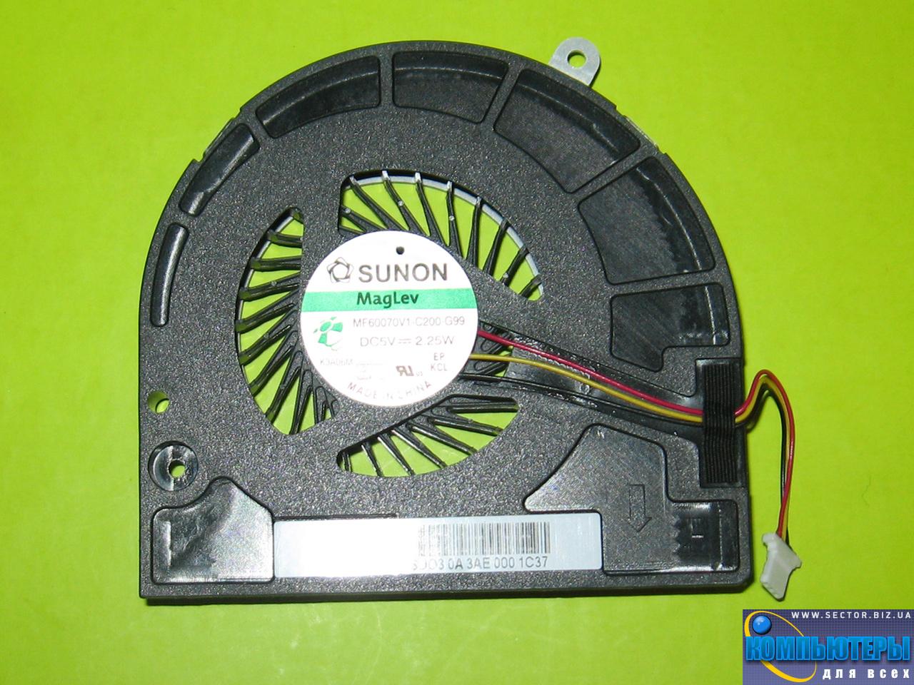 Кулер к ноутбуку Acer Aspire E1-530 E1-530G E1-570 E1-570G p/n: MF60070V1-C200-G99. Фото № 1.