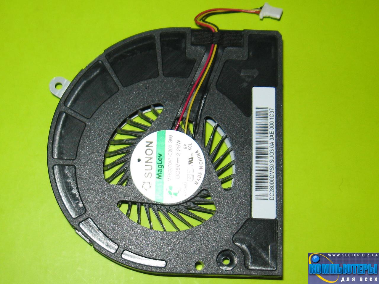 Кулер к ноутбуку Acer Aspire E1-530 E1-530G E1-570 E1-570G p/n: MF60070V1-C200-G99. Фото № 3.