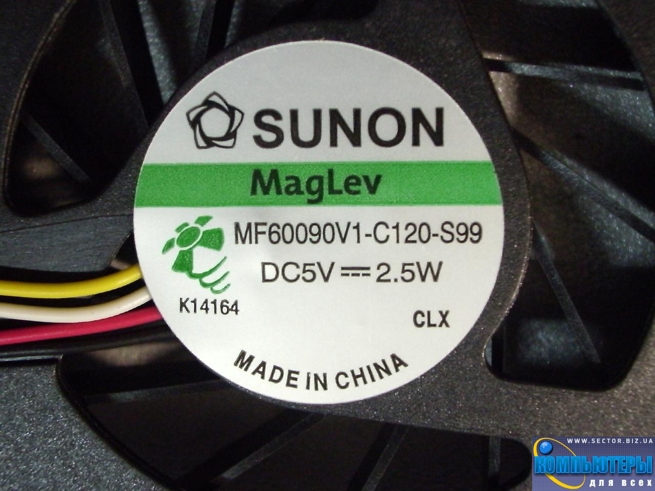 Кулер к ноутбуку Acer Extensa 5235 5635 5635G 5635Z 5635ZG ZR6 p/n: MF60090V1-C120-S99. Фото № 1.