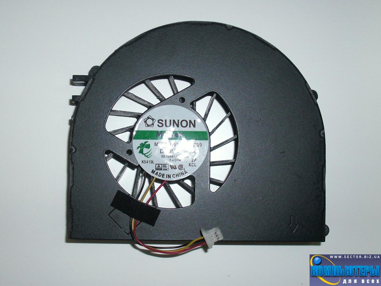 Кулер к ноутбуку Dell Inspiron 15R M5110 N5110 p/n: MF60090V1-C210-G99. Фото № 2.