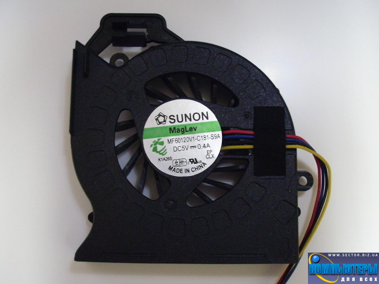 Кулер к ноутбуку HP Pavilion DV6-6200 DV6-6b00 DV6-6c00 DV7-6000 ProBook 4530S p/n: MF60120V1-C181-S9A. Фото № 6.