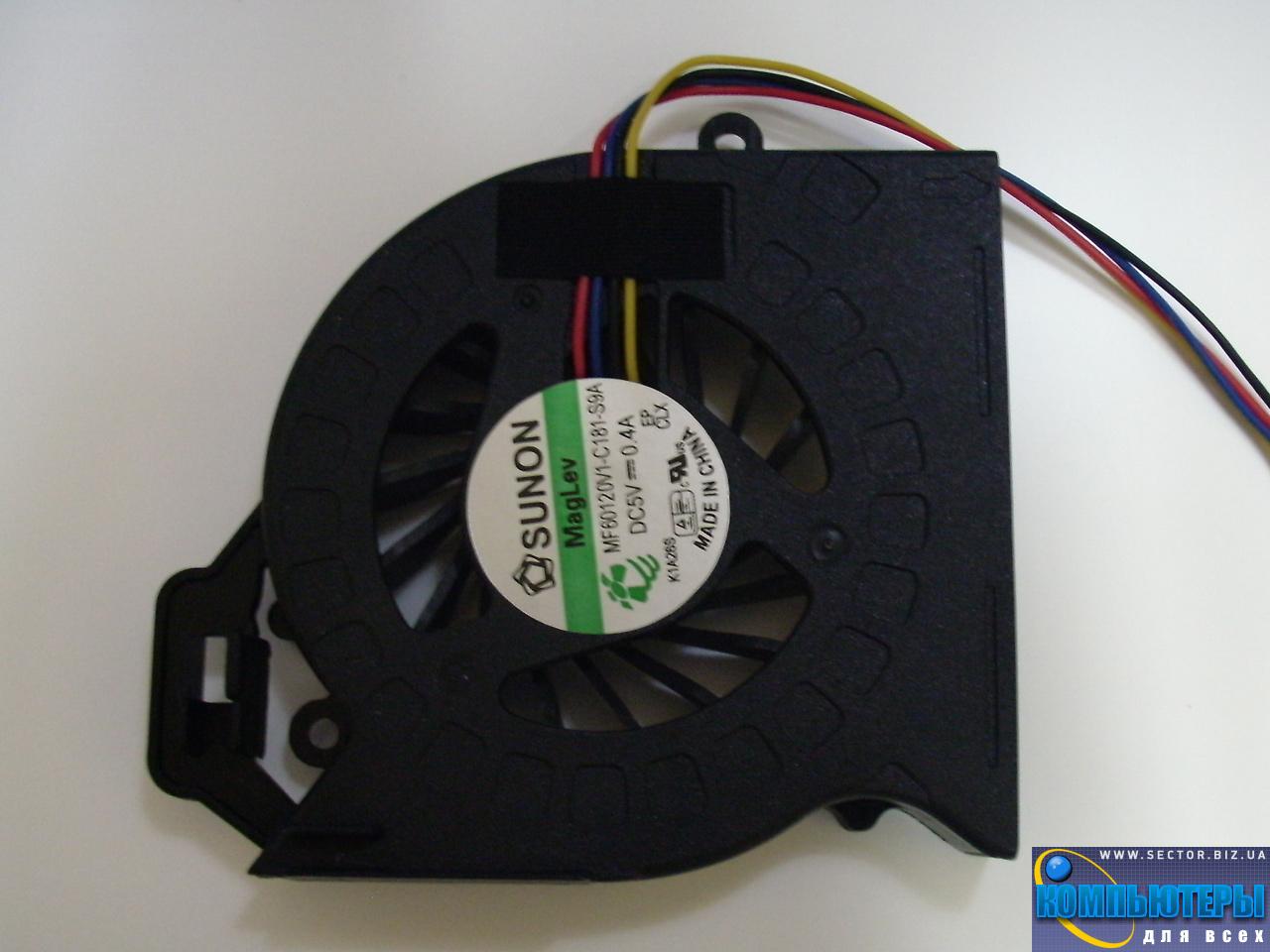 Кулер к ноутбуку HP Pavilion DV6-6200 DV6-6b00 DV6-6c00 DV7-6000 ProBook 4530S p/n: MF60120V1-C181-S9A. Фото № 4.