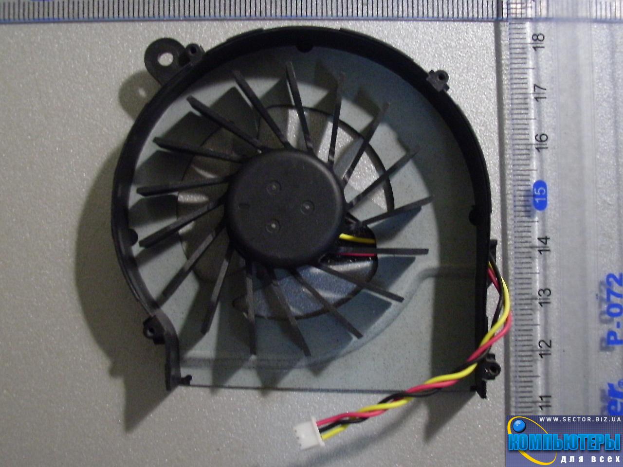 Кулер к ноутбуку HP Compaq CQ42 G42 G4 G6 G7 CQ56 G56 p/n: MF75120V1-C050-S9A. Фото № 5.