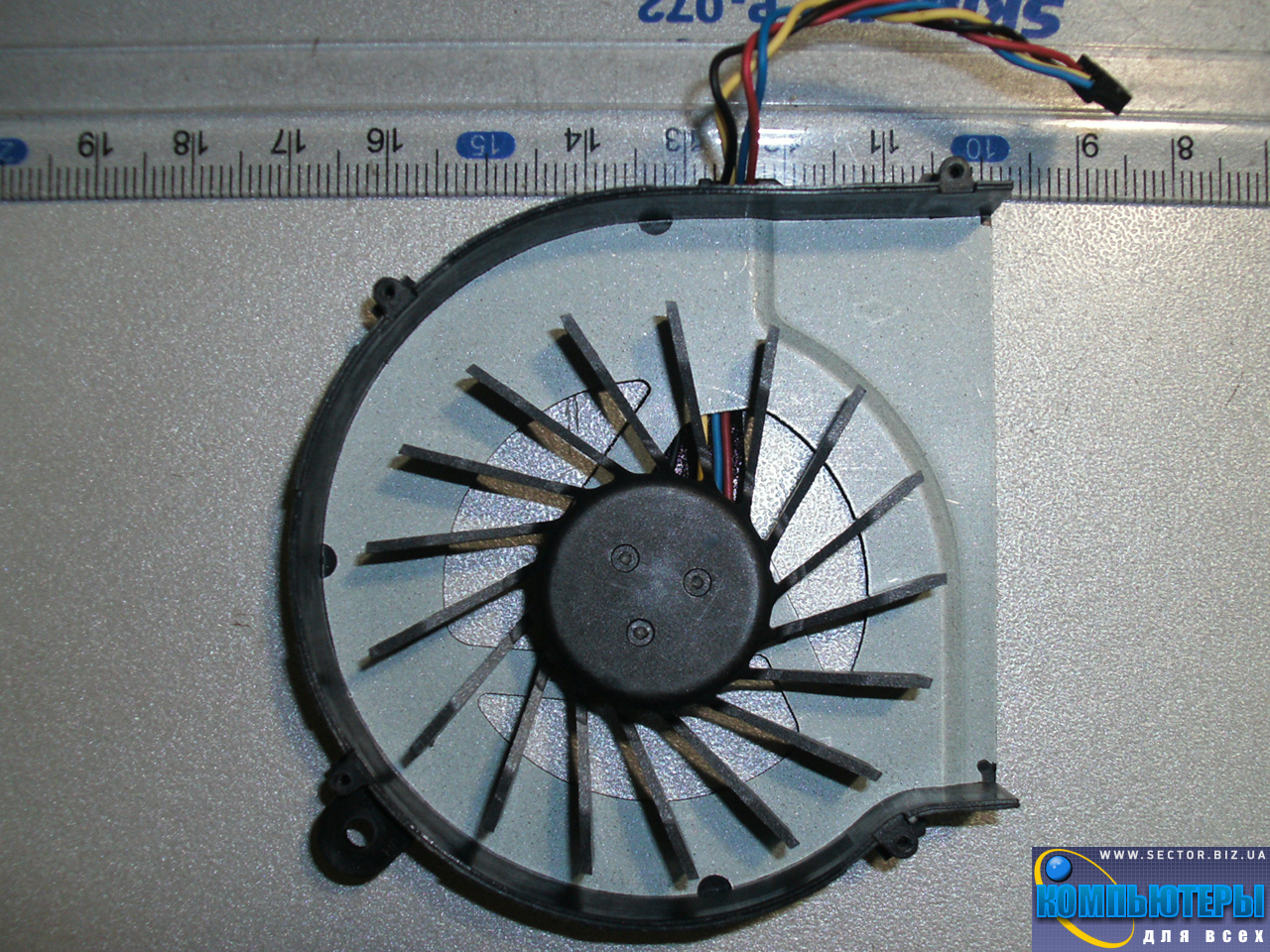 Кулер к ноутбуку HP Compaq CQ42 G42 G4 G6 G7 CQ56 G56 p/n: MF75120V1-C050-S9A. Фото № 2.