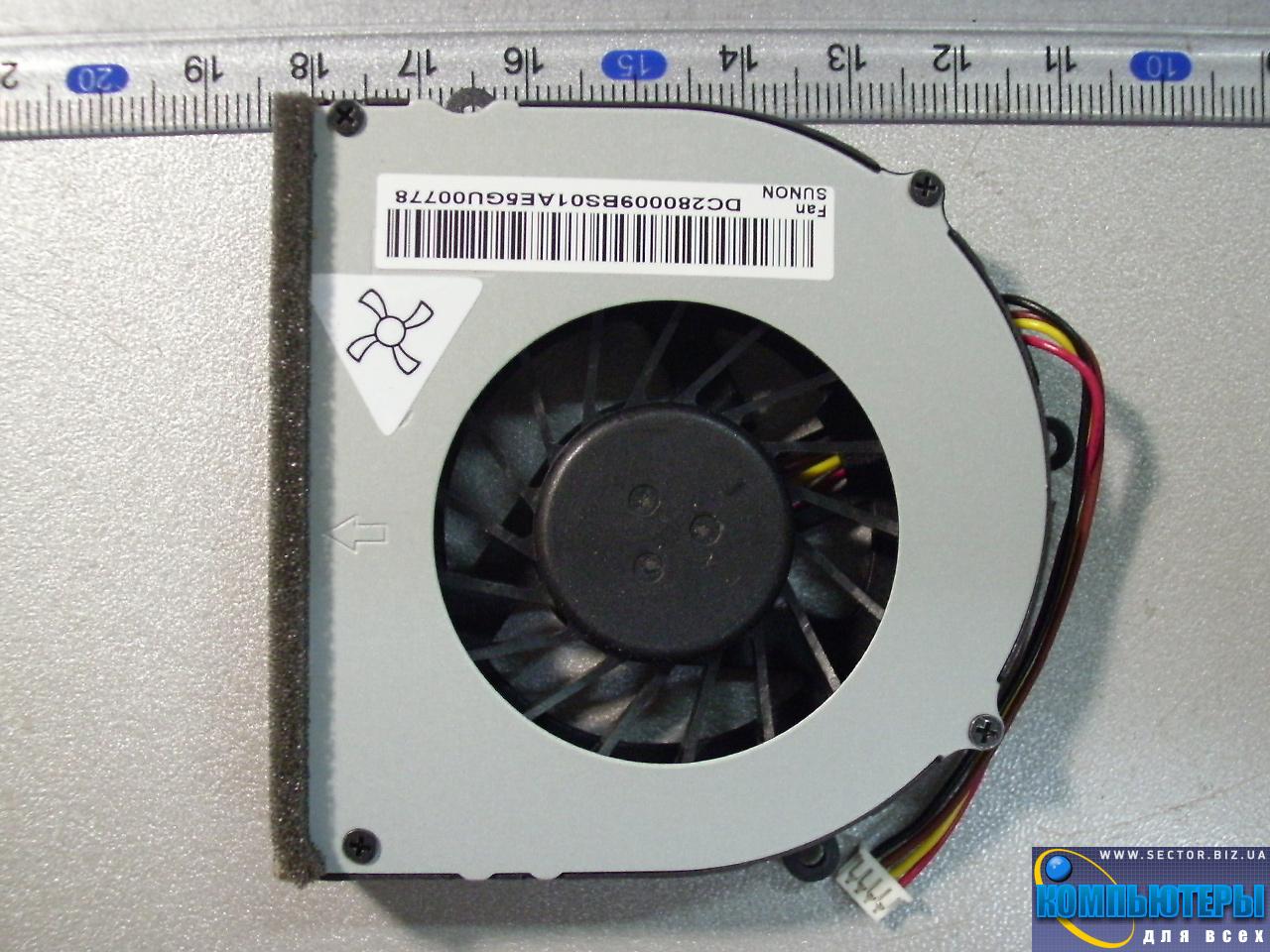 Кулер к ноутбуку Lenovo G470 G470A G470AH G475 G475A G474GL G470AL G570 G575 p/n: MG60120V1-C030-S99. Фото № 4.