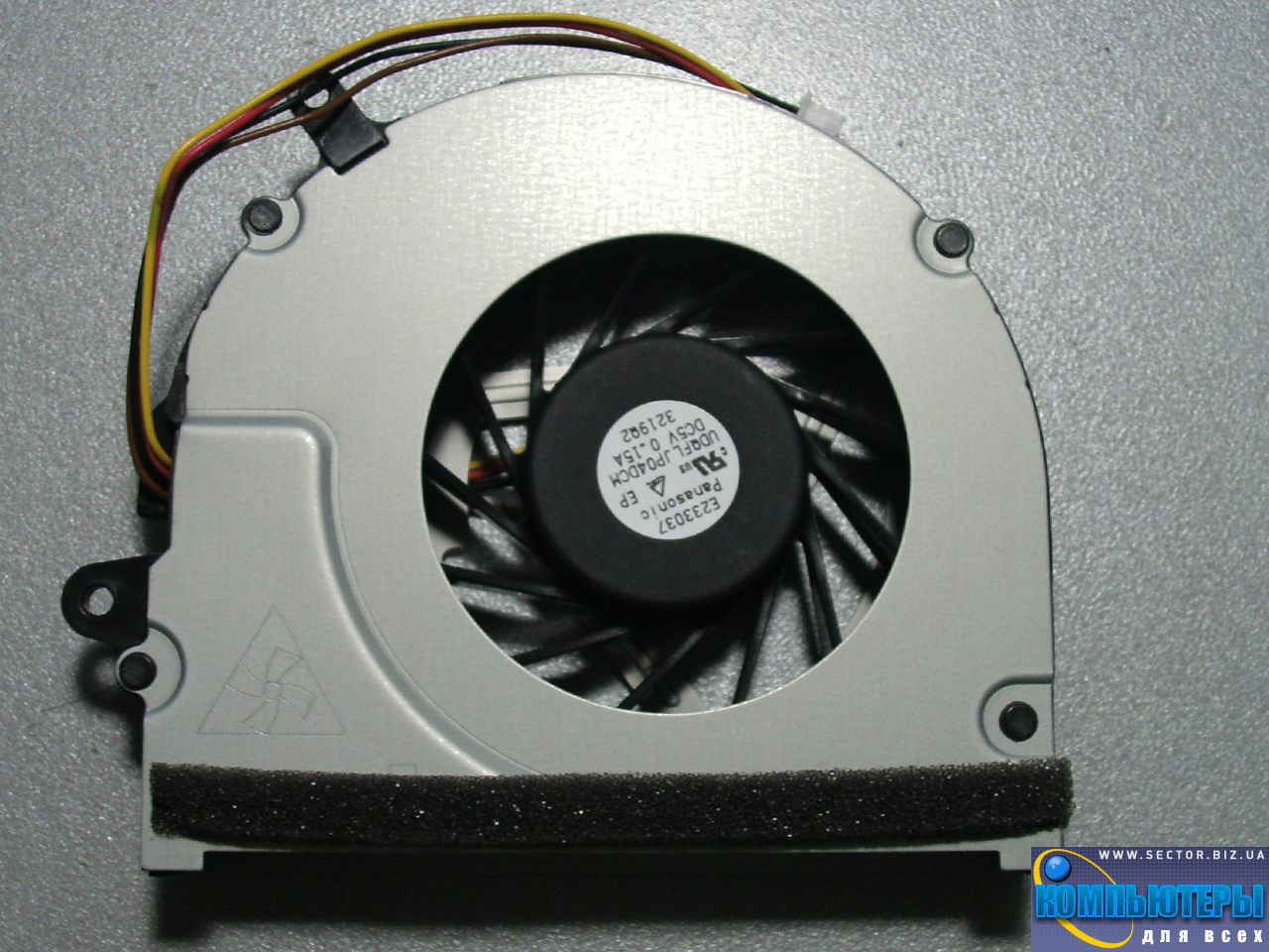 Кулер к ноутбуку Lenovo G480 G485 G580 G585 vers.1 p/n: UDQFLJP04DCM 3219Q2. Фото № 3.