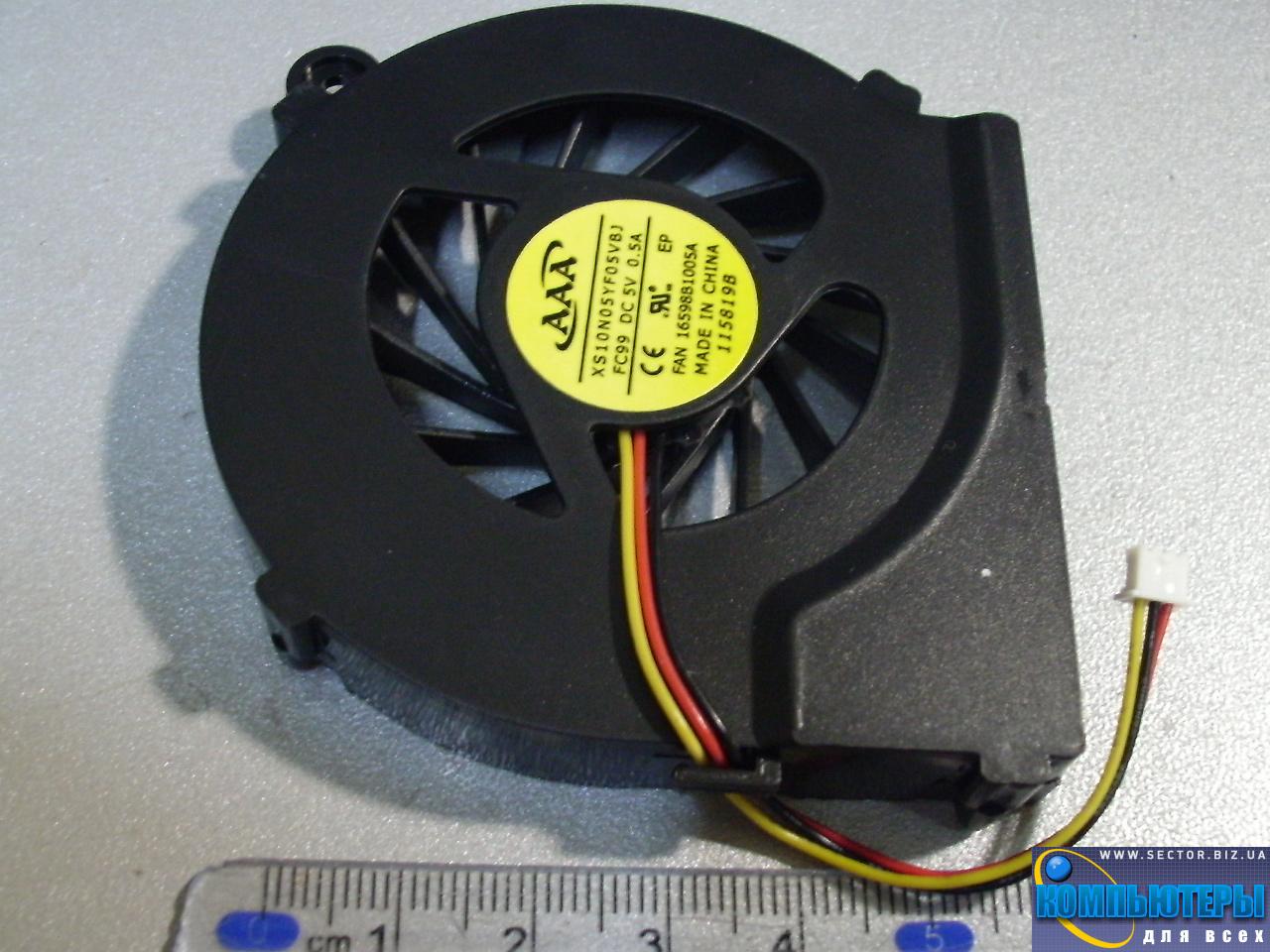 Кулер к ноутбуку HP Compaq CQ42 G42 G4 G6 G7 CQ56 G56 p/n: XS10N05YF05VBJ. Фото № 4.